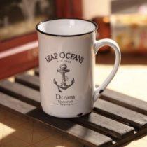 Porcelánový retro hrnček Ocean