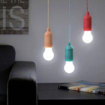 Prenosná LED žiarovka so šnúrkou