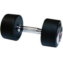 Pogumovaná jednoručná činka inSPORTline 40 kg