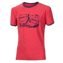 Progress OS MAVERICK červená L - Pánske športové tričko