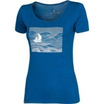 Progress SS SKIPPER LADY modrá M - Dámske bambusové tričko