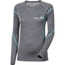 Progress MERINO LS-L šedá XL - Dámske funkčné tričko