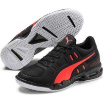 Puma AURIZ JR čierna 5.5 - Juniorská volejbalová obuv