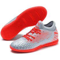 Puma FUTURE 4.4  IT JR žltá 2 - Detská halová obuv
