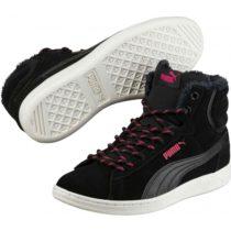 Puma VIKKY MID CORDUROY čierna 6.5 - Dámska obuv