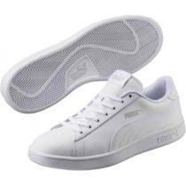 Puma SMASH V2 L biela 9.5 - Pánska obuv