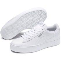 Puma VIKKY STACKED L biela 4.5 - Dámska vychádzková obuv