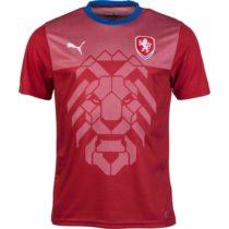 Puma CZECH REPUBLIC B2B červená L - Pánske tričko