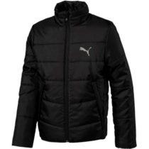 Puma ESS PADDED JACKET JR čierna 152 - Juniorská zimná bunda