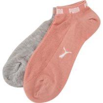 Puma SNEAKERS 2P WOMEN šedá 35-38 - Dámske ponožky