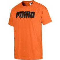 Puma ATHLETICS TEE oranžová XL - Pánske tričko
