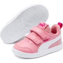Puma COURTFLEX V2 V INF ružová 5 - Detské tenisky