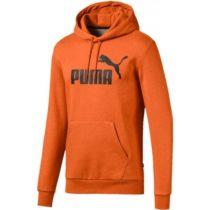 Puma ESS + HOODY FL oranžová S - Pánska športová mikina