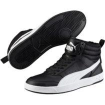 Puma REBOUND STREET V2 FUR čierna 11 - Pánske tenisky