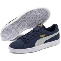 Puma SMASH V2 BUCK tmavo modrá 8.5 - Pánska voľnočasová obuv