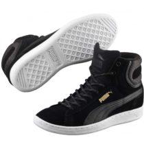 Puma VIKKY MID TWILL čierna 6.5 - Dámske vychádzkové topánky