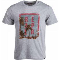 Reaper PALM sivá XL - Pánske tričko