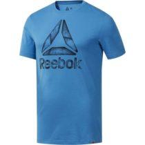Reebok GLITCH.STRATA modrá S - Pánske tričko