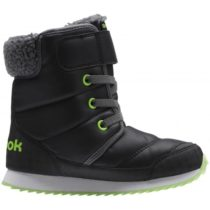 Reebok SNOW PRIME zelená 2.5 - Detská zimná obuv