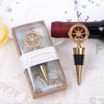 Retro zátka na fľašu - kompas