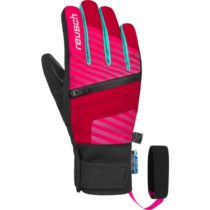 Reusch THEO R-TEX XT JR čierna 6,5 - Juniorské lyžiarske rukavice