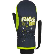 Reusch KIDS MITTEN modrá 3 - Detské lyžiarske rukavice
