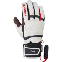 Reusch HENRIK KRISTOFFERSEN biela 9 - Kožené lyžiarske rukavice