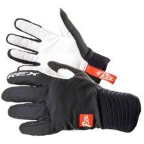 REX THERMO PLUS čierna M - Rukavice na bežecké lyžovanie