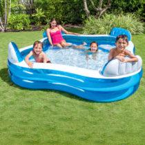 Rodinný bazén s kreslami 229 x 229 x 66 cm Intex