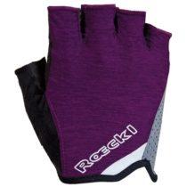 Roeckl DIAZ fialová 6 - Dámske cyklistické rukavice