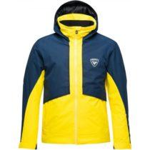 Rossignol MASSE tmavo modrá 3XL - Pánska lyžiarska bunda