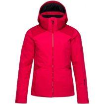 Rossignol W CONTROLE JKT červená M - Dámska lyžiarska bunda