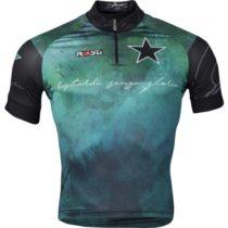 Rosti BASTARDI KR ZIP zelená 3xl - Pánsky cyklistický dres