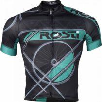 Rosti RUOTA DL ZIP čierna 3xl - Pánsky cyklistický dres