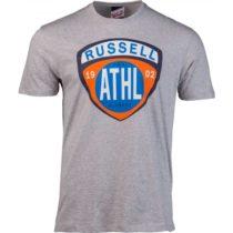 Russell Athletic SHIELD TEE šedá S - Pánske tričko