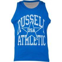 Russell Athletic BASKETBALL CHLAPČENSKĚ TIELKO modrá 116 - Chlapčenské tielko