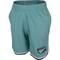 Russell Athletic BASKETBALL USA zelená 176 - Chlapčenské šortky