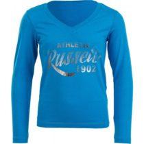 Russell Athletic DIEVČENSKÉ TRIČKO modrá 116 - Dievčenské štýlové tričko