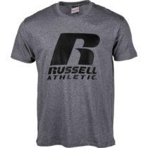 Russell Athletic PÁNSKE TRIČKO R šedá L - Pánske tričko