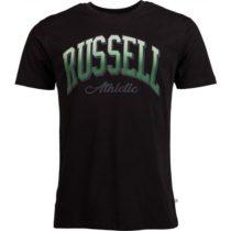 Russell Athletic S/S CREWNECK TEE SHIRT čierna S - Pánske tričko