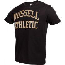 Russell Athletic S/S CREWNECK TEE SHIRT čierna M - Pánske tričko