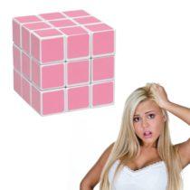 Ružová kocka pre blondínky