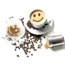 Šablóny na kávu (16 kusov)
