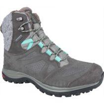 Salomon ELLIPSE WINTER GTX šedá 5 - Dámska zimná obuv