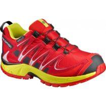 Salomon XA PRO 3D CSWP K červená 29 - Detská bežecká obuv