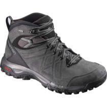 Salomon EVASION 2 MID LTR GTX čierna 7.5 - Pánska hikingová obuv