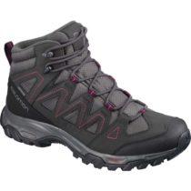 Salomon LYNGEN MID GTX W šedá 6 - Dámska hikingová obuv