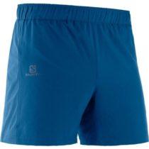 Salomon AGILE 5 SHORT M modrá XL - Pánske bežecké kraťasy