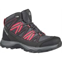 Salomon LEIGHTON MID GTX W tmavo šedá 4 - Dámska hikingová obuv