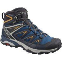 Salomon X ULTRA 3 MID GTX tmavo modrá 8.5 - Pánska hikingová  obuv